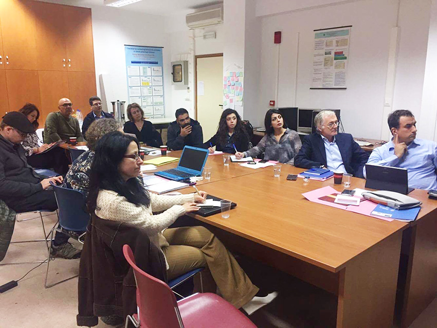 SIA-ProD Kick-off Meeting at the University of Crete, Rethymno, Greece