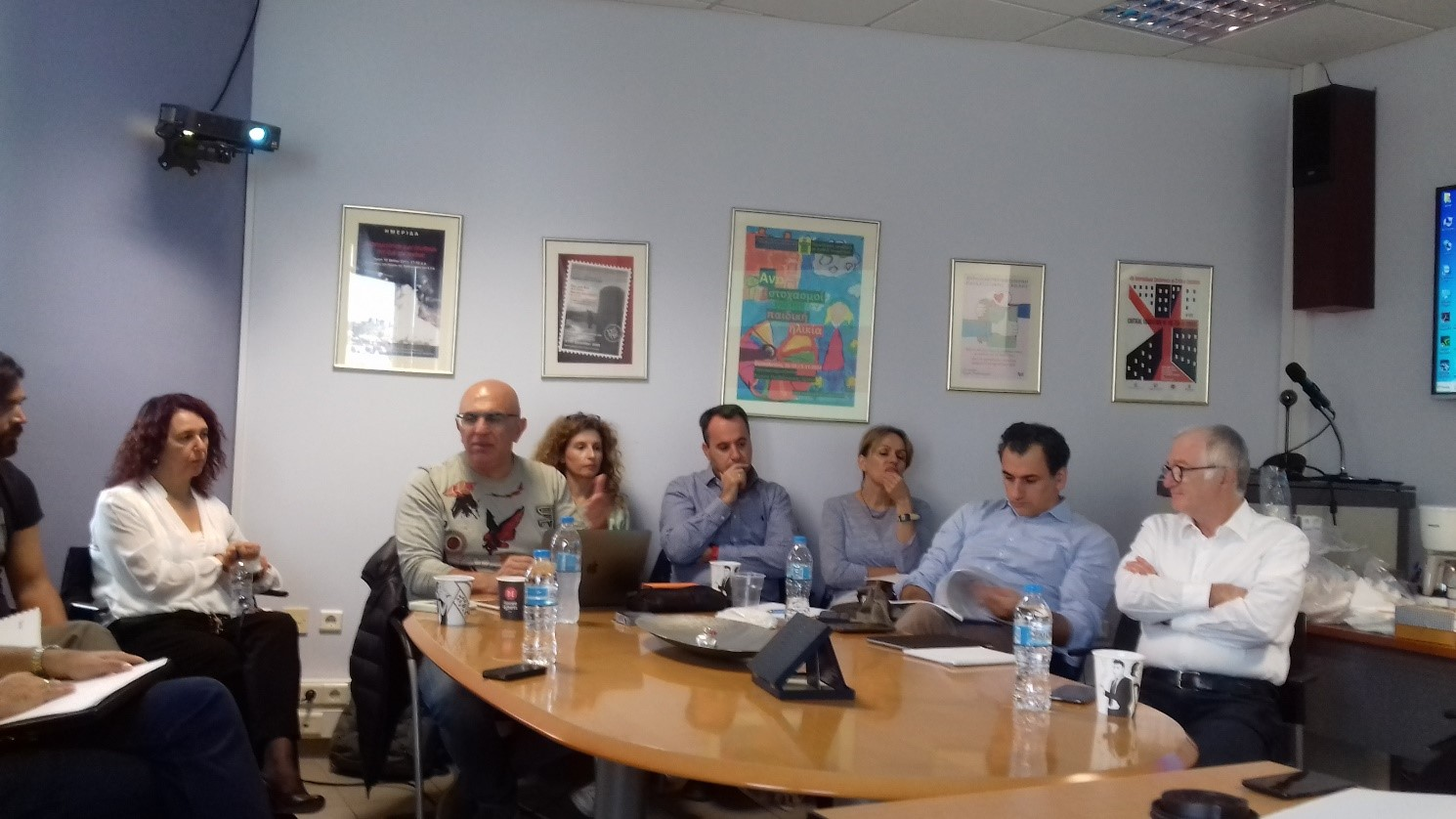 SIA-ProD Fifth Partners' Meeting, AUTH, Thessaloniki, Greece