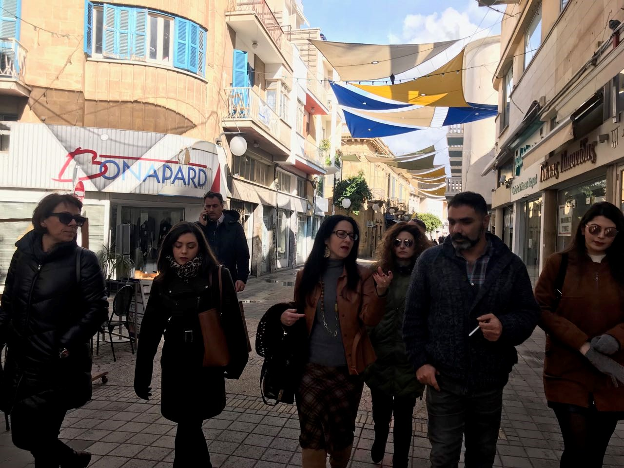 Guided Tour Social Activity in the end of SIA-ProD Fourth Partners' Meeting CARDET, Nicosia Cyprus