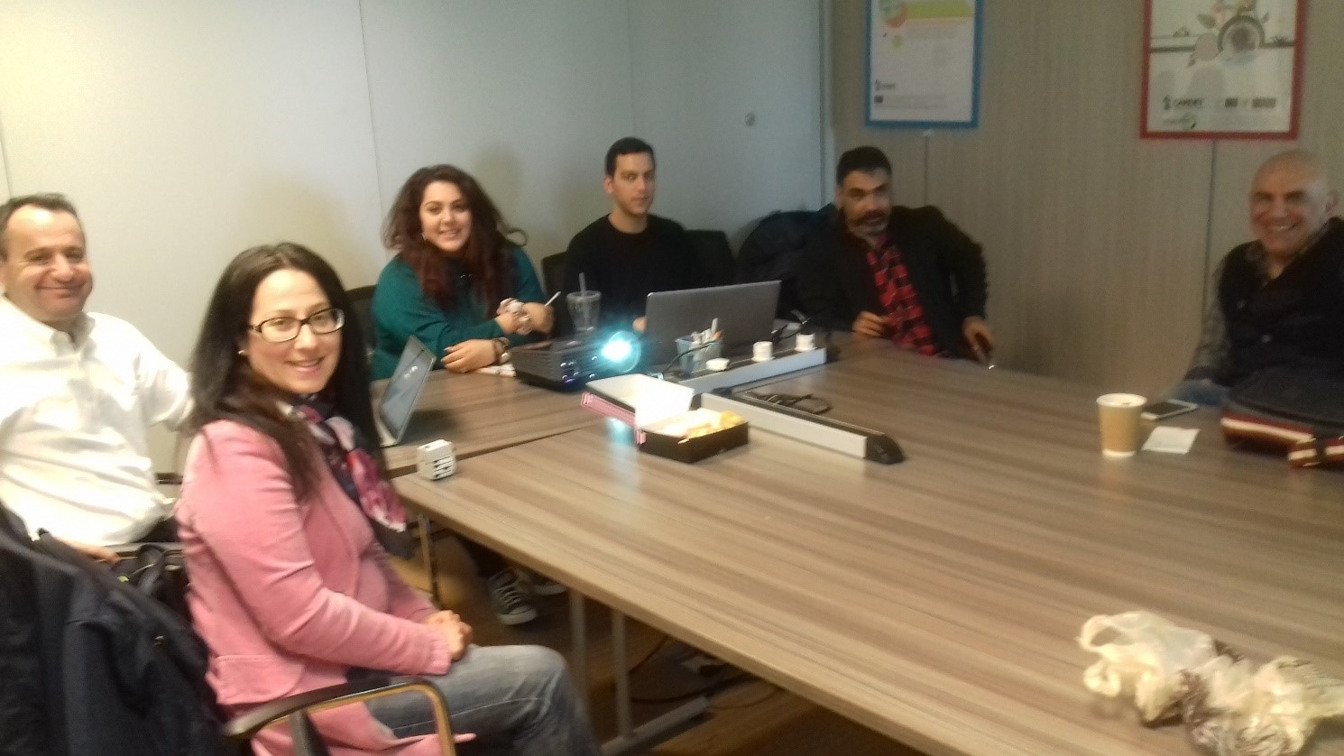 SIA-ProD Website Meeting, CARDET, Nicosia, Cyprus